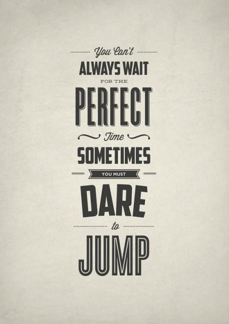 dare and jump