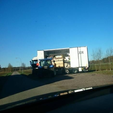 lastbilen